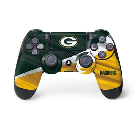 green bay packers sony playstation  ps dualshock