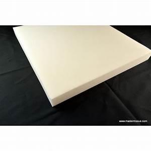 Plaque Mousse Polyuréthane : plaque de mousse polyur thane 7cm 50cmx50cm made in tissus ~ Melissatoandfro.com Idées de Décoration