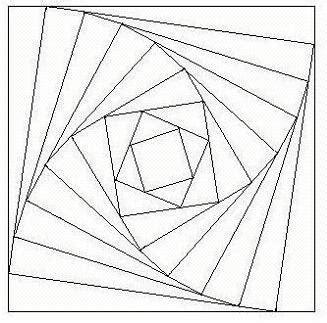 iris folding square template  fun    beautiful