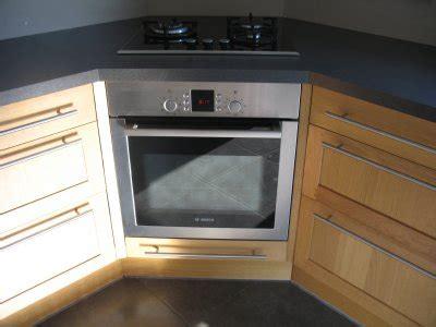 angle plan de travail cuisine cuisine ikea tidaholm réalisation caisson angle pour