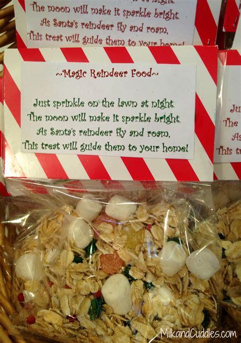 reindeer food recipe   printable everyday