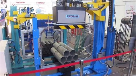 automatic steel strapping machine tube youtube