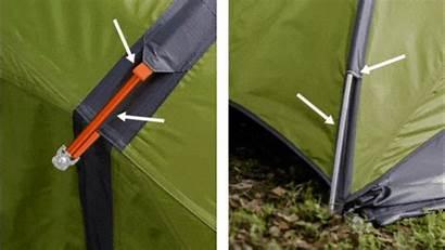 Tent Outdoor Pitch Ground Hammock Sunda Poles