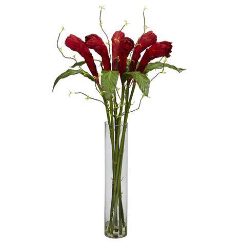 Flower Arrangements In A Vase by 36 Quot Artificial Silk Flower Centerpiece