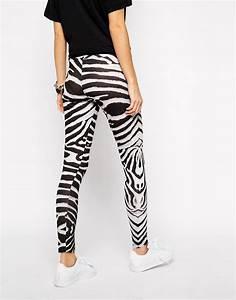 Adidas originals zebra leggings