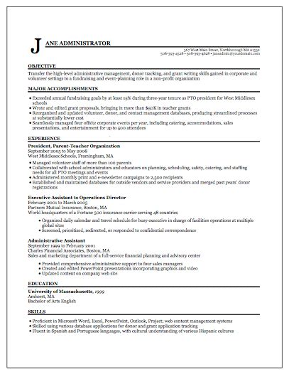 Resume Layout Exle by Resume Format Write The Best Resume