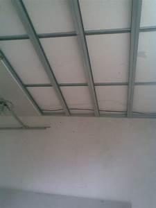 Faire Un Faux Plafond : comment faire faux plafond placo isolation id es ~ Premium-room.com Idées de Décoration