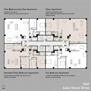 860, Floor, Plans, Including, Standard, Apt