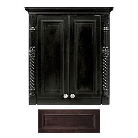 wall to wall cabinets shop architectural bath versailles java wall cabinet
