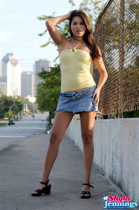 Shyla Jennings  Attractive Teen Chick Shyla Jennings