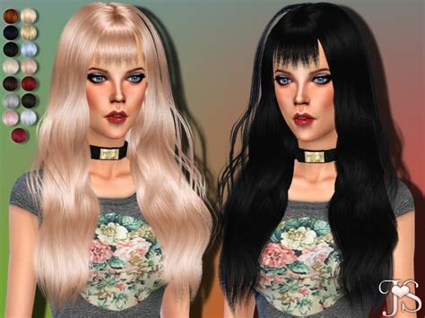Update Hair Style 2019 : Gone Crazy Hair By Javasims At Tsr » Sims 4 Updates