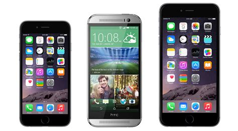 htc one m8 vs iphone 6 iphone 6 vs iphone 6 plus vs htc one m8 which one