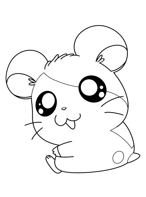 hamtaro coloring pages bestofcoloringcom