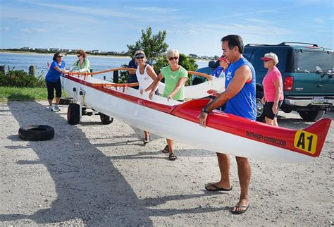 Canoes Bcf by Hawaiian Style Outrigger Canoe At Gardner S Basin