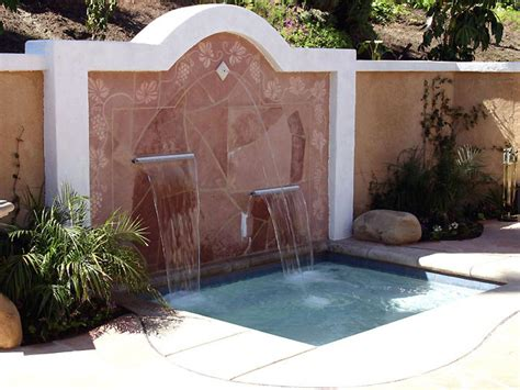 water features for walls outdoor water features for any budget diy