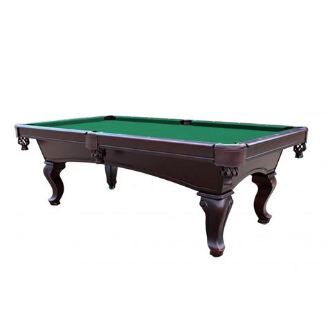 10 ft pool table green 8 foot queen anne style 3 piece slate pool table