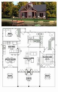 Cottage, Style, Cool, House, Plan, Id, Chp