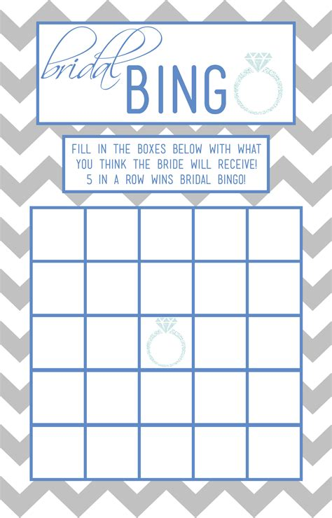 bridal shower bingo template bridal bingo template lisamaurodesign