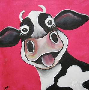 Paintings Of Cartoon Cows cartoon ankaperla com