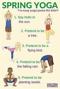 Yoga for Spring (Printable Poster) | Kids Yoga Stories ...