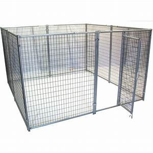 shop options plus 10 ft x 10 ft x 6 ft outdoor dog kennel With outside dog kennels lowes