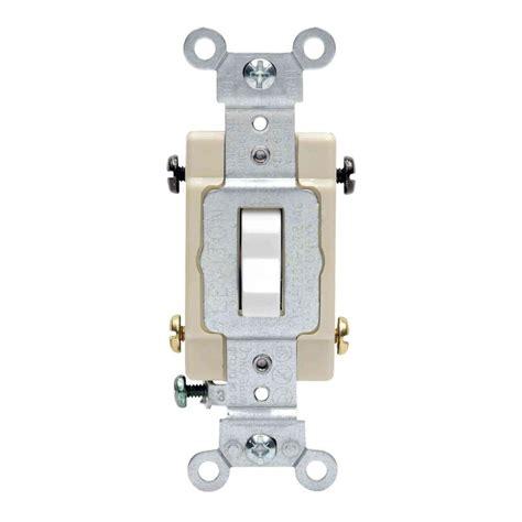 Leviton Amp Way Preferred Toggle Switch White