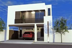 Foto: Casa con Terraza Al Frente en Planta Alta de Arquitectura Supermoderna #61947 Habitissimo