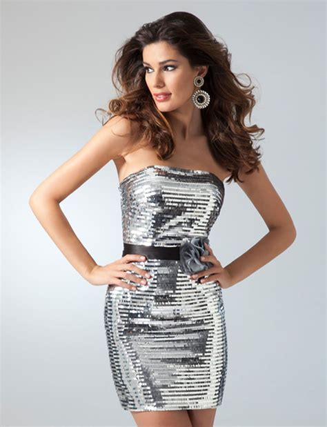to cute...   Sequin dress short, Cocktail dress style ...