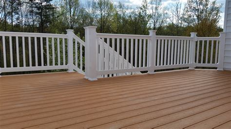 the deck company capped composite decking maryland deck builders the