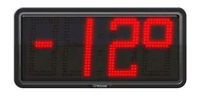 Temperature Led Commercial Digit Display Digital Displays