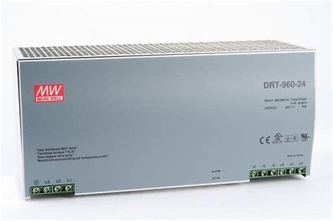 DRT-960-24 DIN Rail Power Supply 24V 40A