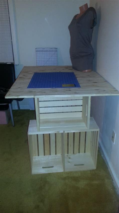 easy diy craft table tonia
