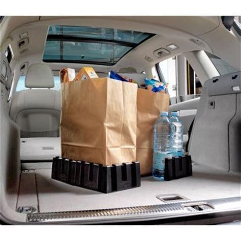 rangement pour coffre de voiture 2 cales de rangement pour coffre aplix feu vert