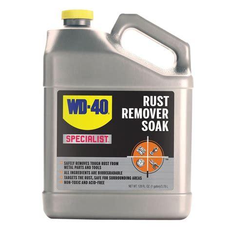 wd   gal specialist rust soak   home depot