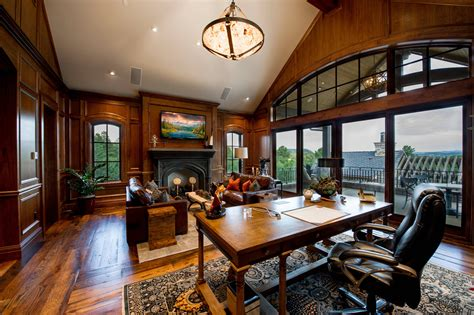 Houzify Home Design Ideas by 15 Motivational Rustic Home Office Designs That Will