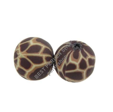 perle fimo bps animale motivo polymer clay beads tondo