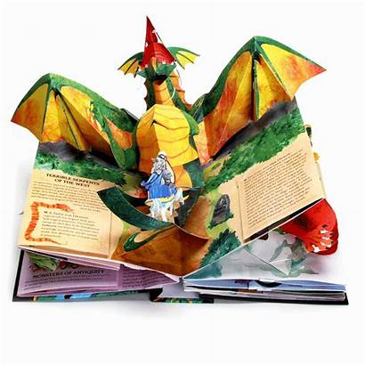 Pop Monsters Dragons Hardcover Livros Gifs Animated