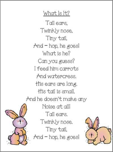 easter poem for preschool easter rhymes for yahoo search results easter 408