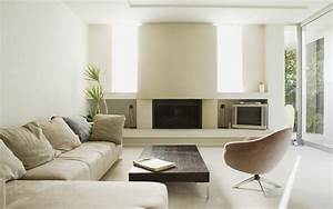 Clean And Modern Living Room Wallpapers