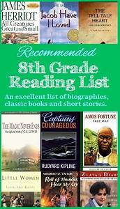 Recommended Reading List for 8th Grade #homeschool ...
