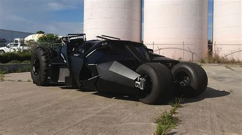 Batman Car From The Dark Knight Trilogy For Sale For