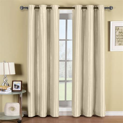 Grommet Top Drapes - soho thermal blackout grommet top curtain panels single