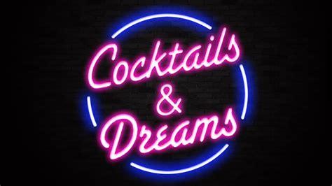 neon bar lights cocktails dreams sign liberty