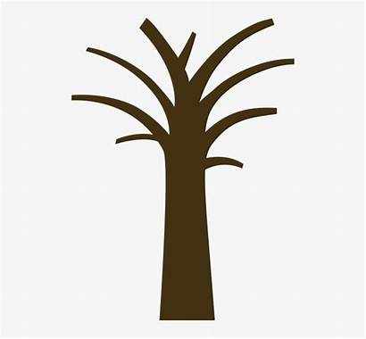 Tree Clipart Brown Trunks Trunk Competency Transparent