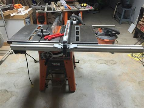ridgid ts table  west shore langfordcolwood