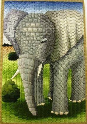 Elephant Needlepoint Canvas
