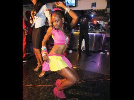 queen latesha markets jamaican dance worldwide