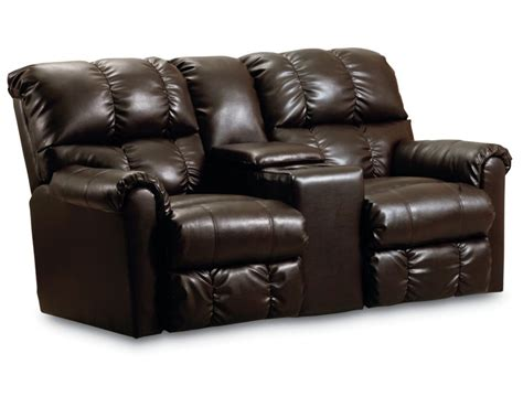 double seat reclining sofa griffin double reclining console loveseat with storage