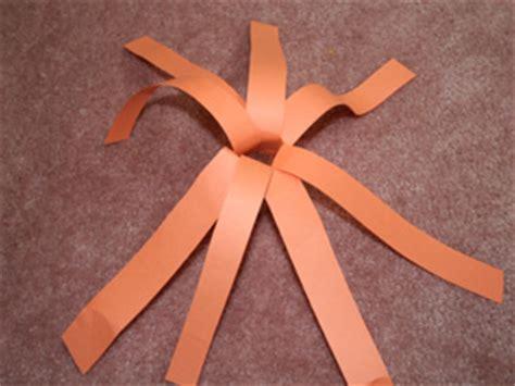 paper strip pumpkin craft  kids network