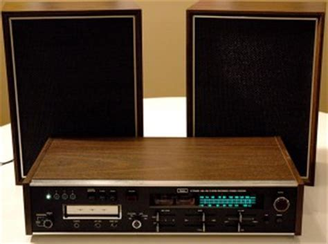 SEARS 8 TRACK RECORDER VINTAGE STEREO RECEIVER SYSTEM